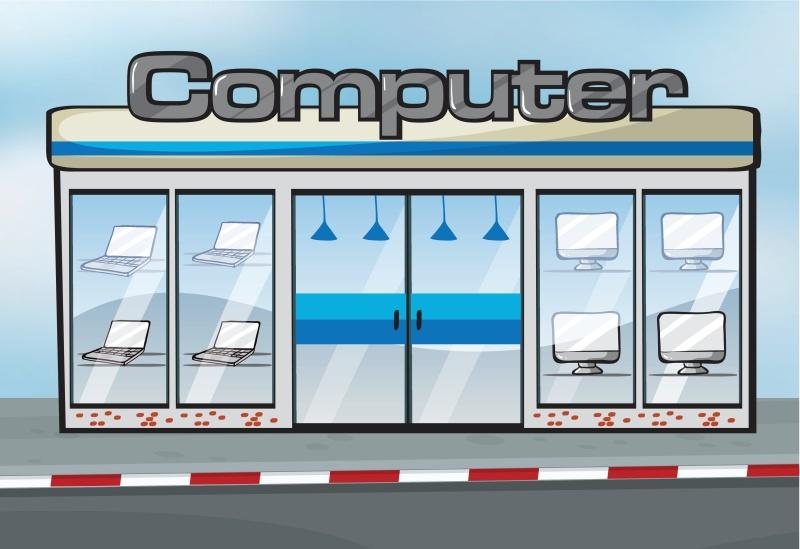 Computer butik